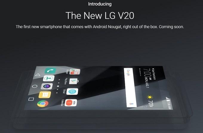 lg v20 introduced