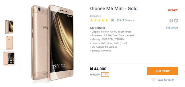 gionee-m5-mini-jumiablackfriday