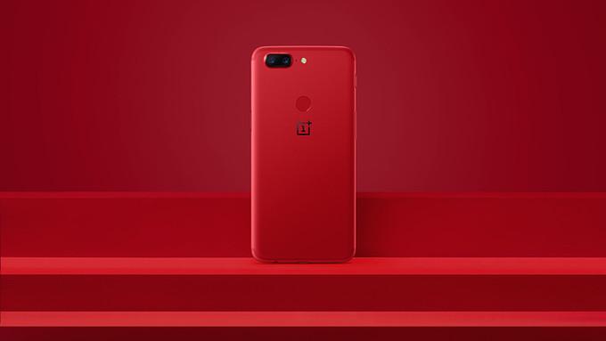 OnePlus 5T Lava Red phonesinnigeria