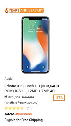 iphone x phonesinnigeria