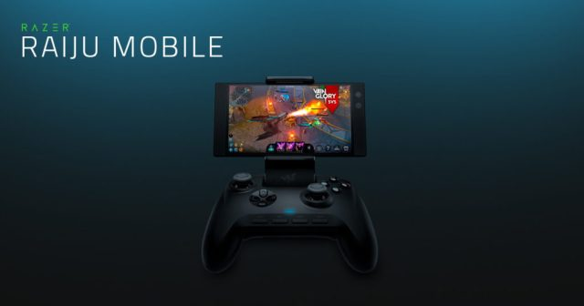 Razer Raiju mobile game controller for android