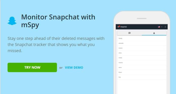 Snapchat screen capture app