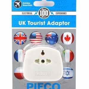 PIFCO UK Tourist travel Adaptor