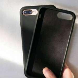 Samsung S8 Silicone TPU Phone Case Cover Black