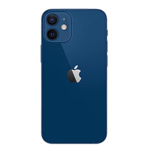 The back of iPhone 12 mini Blue Colour