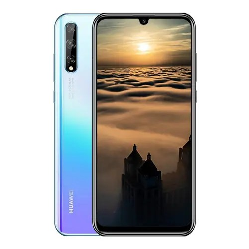 Huawei Y8p front and Breathing Crystal Back display image