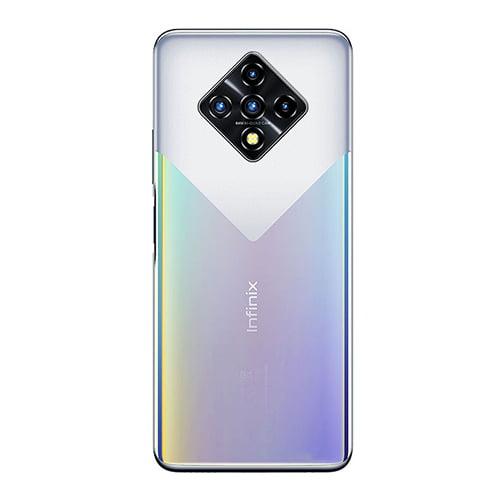 Infinix Zero 8 silver back image