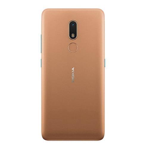 Nokia C3 brown back