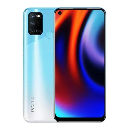 Realme 7i front Display and Blue back