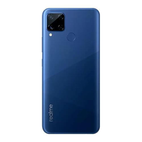 Realme C15 Blue back