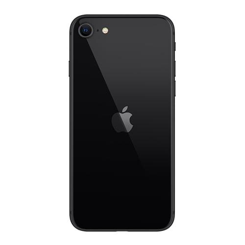 iPhone SE 2020 Back image color black