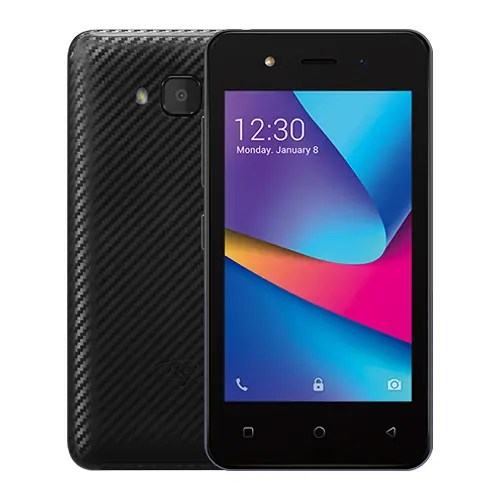 iTel A14 front and Black Back