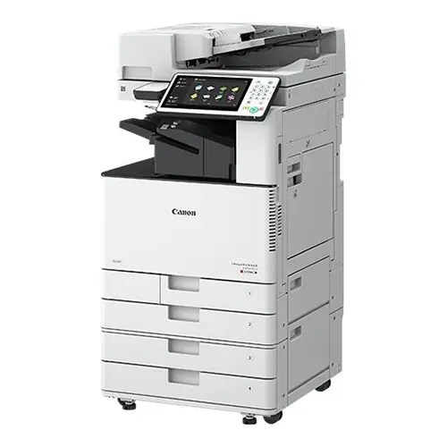 Canon imageRUNNER ADVANCE C3520i Printer Front and Side Display