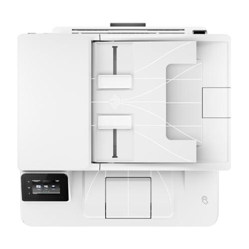 HP LaserJet Pro MFP M227fdw Printer Top Display