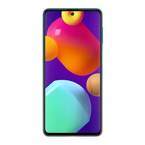 Samsung Galaxy M62 front Display