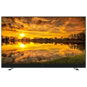 """TCL (65C8) 65"""" inch 4K UHD Dolby Vision HDR Roku Smart TV Front Display"""