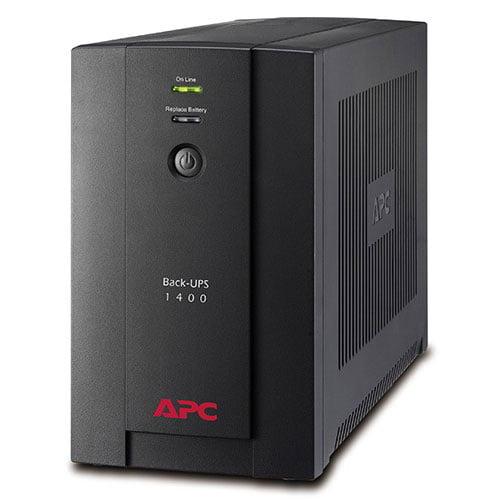 APC Back-UPS 1400VA (BX1400U-MS): 230V, AVR, Universal and IEC Sockets