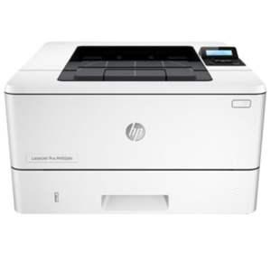 HP LaserJet Pro M402dn Wireless Printer Front Display