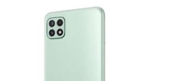 Samsung Galaxy A22 Mint Back