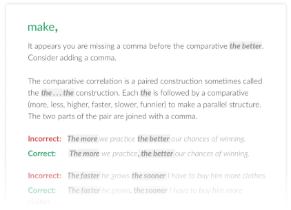 Grammar and Punctuation Checker