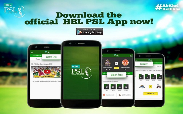 HBL Update: Now Watch Live Streaming Of Pakistan Super League On PSL