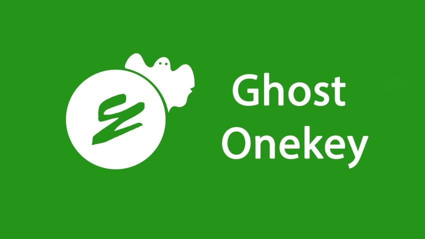 onekey ghost xp