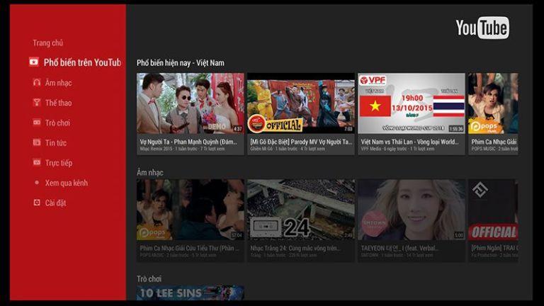Lỗi tivi không xem được Youtube và cách chữa 99% thành công