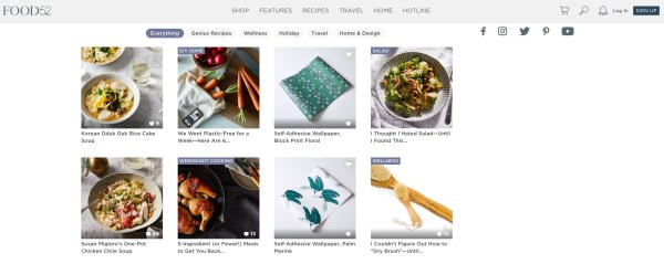 food52, an Online Culinary Platform for the Thoughtful Home