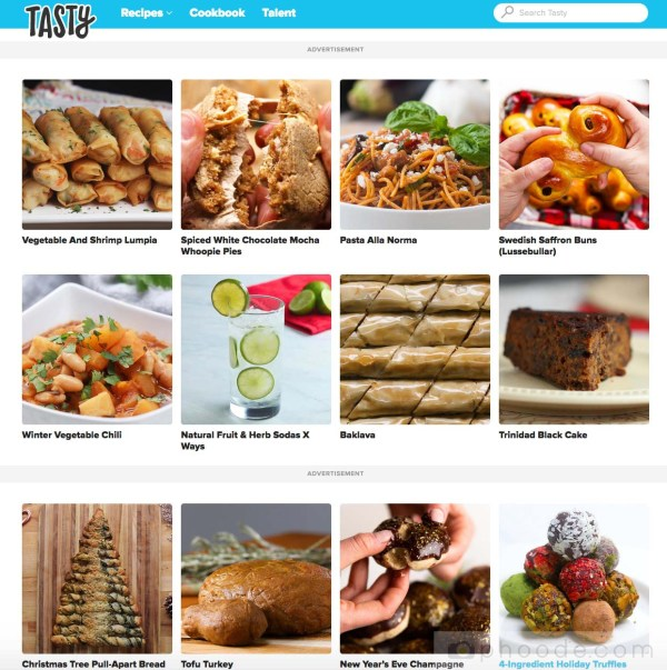 tasty co home page website