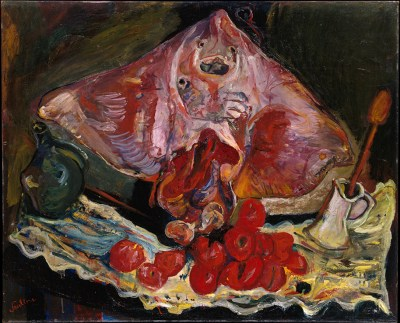 Chaim Soutine food expressionist, food expressionist painting, food fine arts icons, iconic food still life paintings, expressionist food painter, famous food painter, food fine arts inspiration, food creative inspiration, Chaim Soutine influential food artist, expressionist food art pioneer Chaim Soutine, jewish food art, still life with ray