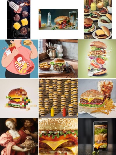 creative food subject segment hamburger, Artistic Food Subject, creative food photography, phoodecreatives instagram, phoode, food phtography critique, different styles of food photography, food photography curator, creative food styling, commercial food photogrphy, fine arts food photography, food illustration, food artists