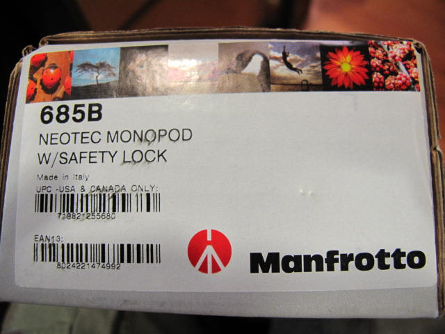 Manfrotto 685B Monopod