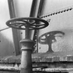 1945年 菊池俊吉 《広島,千田町電鉄株式会社,御幸橋》