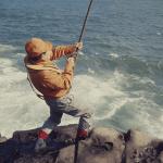 永田一脩 《著書『海釣り』 表紙》