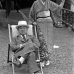 1956年 中島健蔵 《谷崎純一郎,夫人》