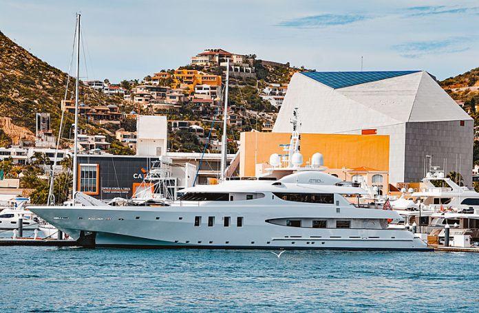 50m yacht Azteca II in Cabo San Lucas | SuperYacht Times
