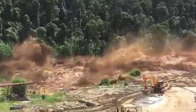 Image result for Hundreds missing in Laos after dam collapse: state news agency