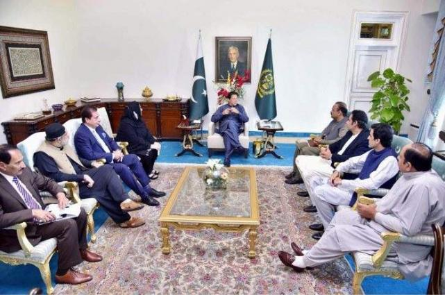 The SAFRON Minister, MNA called on the Prime Minister, praising the government's move to check inflation, hoard