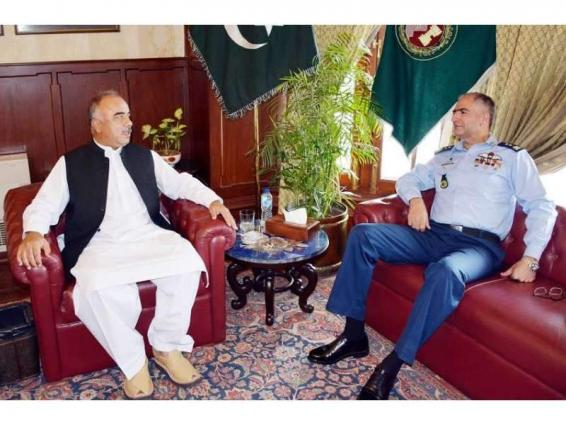 AOC AVM calls on Governor Khyber Pakhtunkhwa Shah Farman