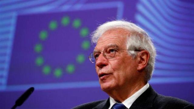 EU's Borrell condemns expulsion of envoy from Venezuela