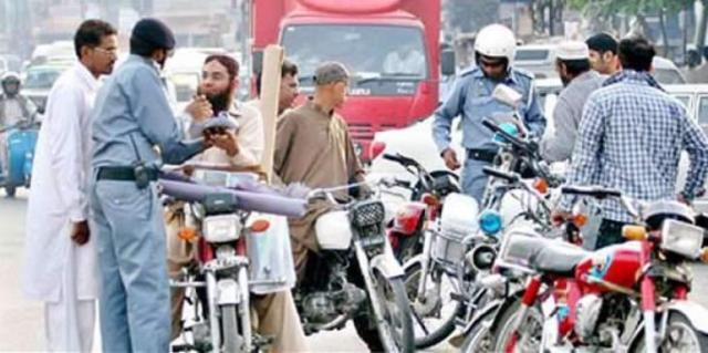 4 vehicles impounded over violation of traffic rules