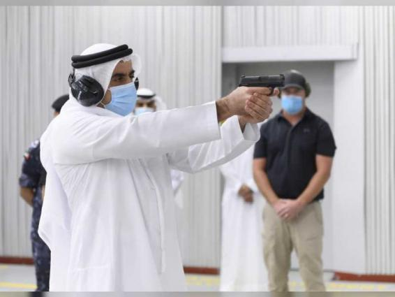 Saif bin Zayed reviews specialised police forces course
