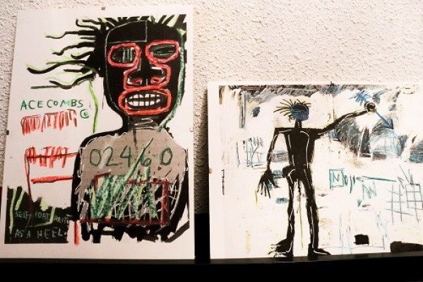 challenge photo comme basquiat