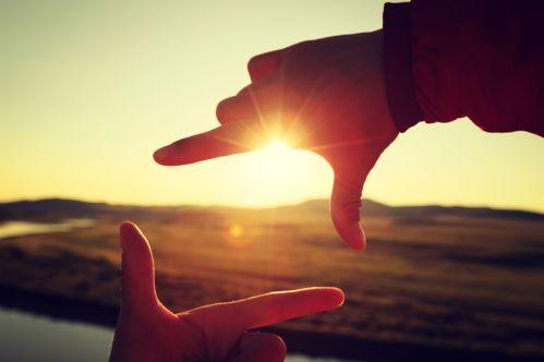 exercice de photo : cadrer avec ses doigts pour progresser