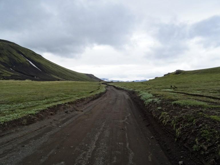 chemin en Islande