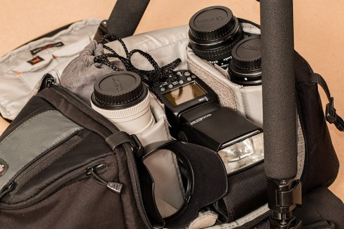 sac photo pour voyager matériel photo en voyage