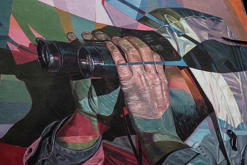 photographier les détails de graffiti