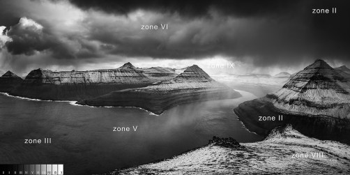 ansel adams zone system exemple