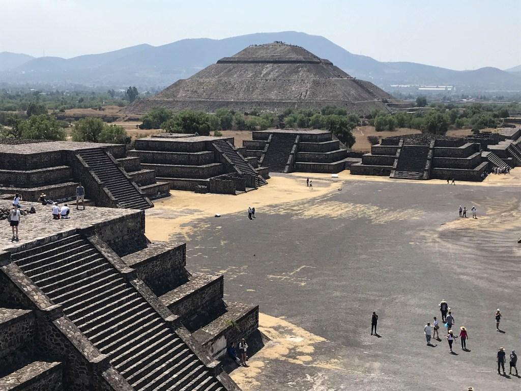 Teotihuacan Pyramid, Mexico City, Mexico ©2019, Cyndie Burkhardt