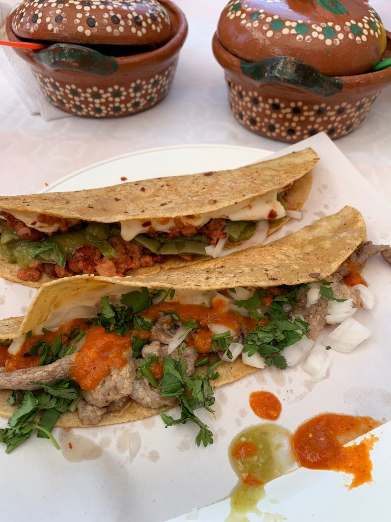 Quesadillas, Xochimilco, Mexico ©2019, Cyndie Burkhardt